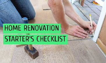Home Renovation Starter's Checklist